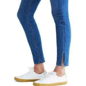 Madewell Jeans - Madewell High-Rise Skinny Jeans: Side-Slit Edition
